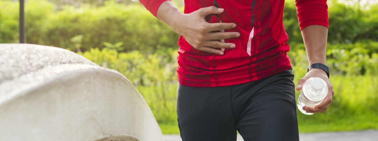 How to avoid gastrointestinal complaints during exercise?
