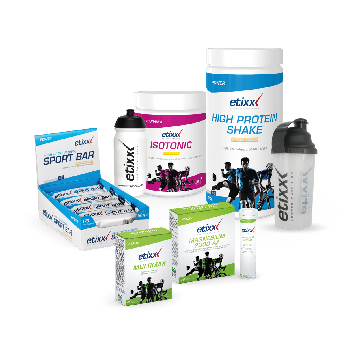 Building strength pack