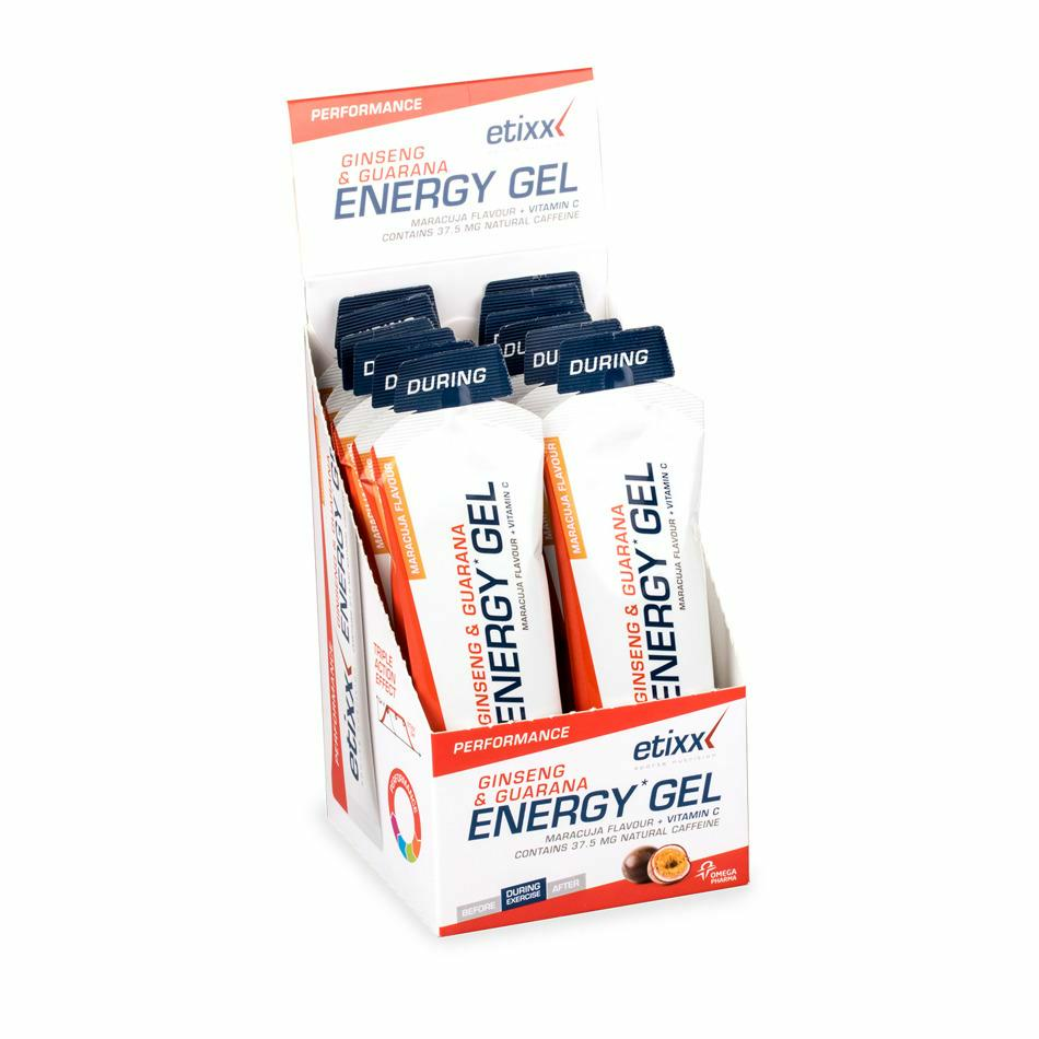 Ginseng & Guarana Energy Gel