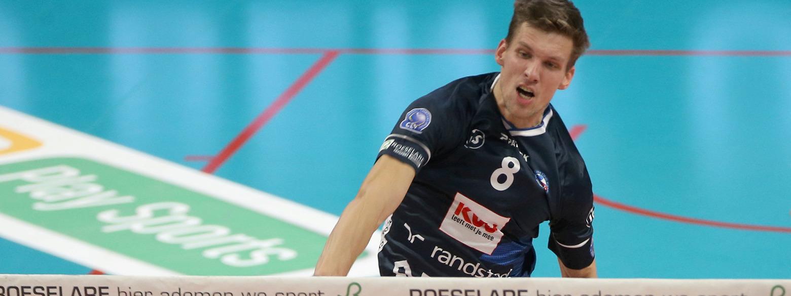 Speler Knack Roeselare Matthijs Verhanneman aan het woord